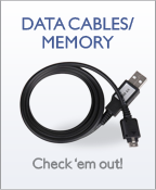 Wireless Accessories - Data Cables/Memory
