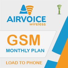 Airvoice Monthly Plans - Prepaid Wireless