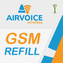 Airvoice Pay as You Go Refills - Prepaid Wireless